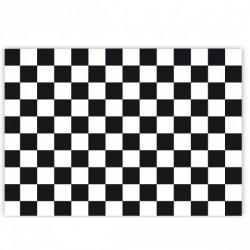 Set de table - Quadrillé noir