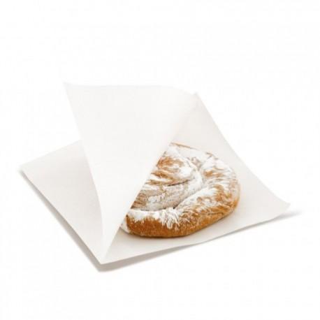 Sachet ouvert 12 cm blanc