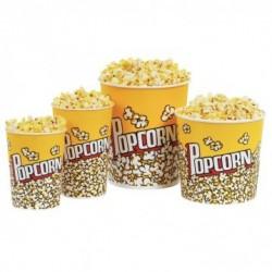 Gobelets Rond - Pop corn