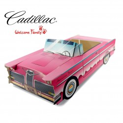 Boite menu enfant Cadillac Rose