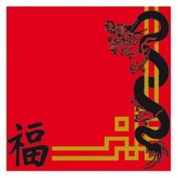 Serviettes modèle - China