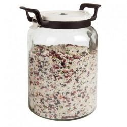 Pot pour stocker cylindrique 8000 ML