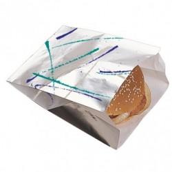 Sachet burger - Aluminium