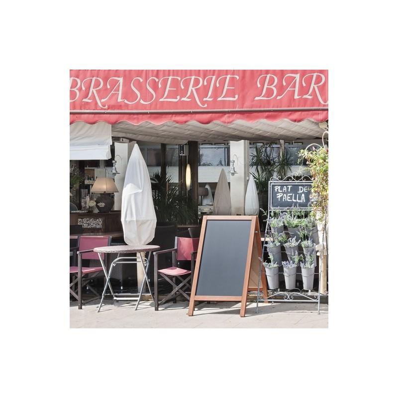 Accessoire de table et mat riel pour restaurant ardoise for Porte menu exterieur pour restaurant