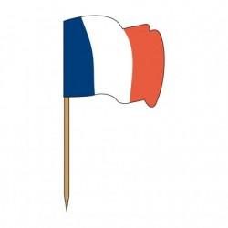 Piques drapeaux ondulés