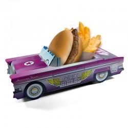 Boite menu enfant Cadillac Girly Violet