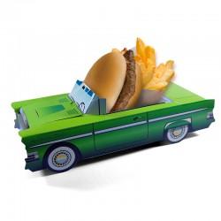 Boite menu enfant Cadillac Verte