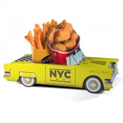 Boite menu enfant Cadillac Taxi NYC