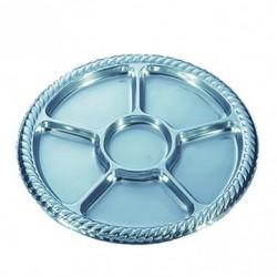 Plateau luxe - Assiette 5 compartiments