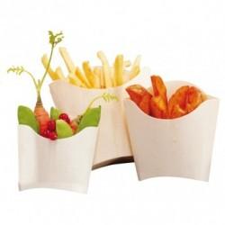Boîtes pour frites - Bois