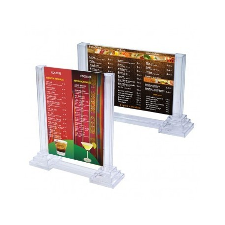Colonne de table horizontale