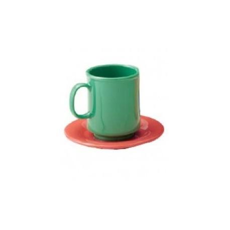 Soucoupe café colorée cdt/12