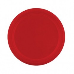 Assiettes couleurs extra rigides Plastique (x500) - Taille : 17.5 cm