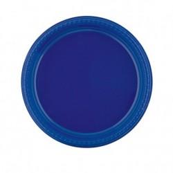Assiettes couleurs extra rigides Plastique (x500) - Taille : 23 cm