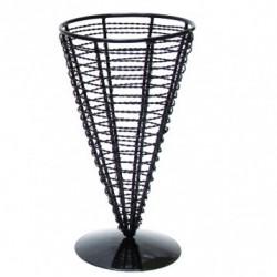 Cône acier - Simple 18cm (x6)