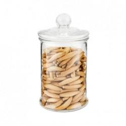 Pot pour stocker cylindrique 1200 ML