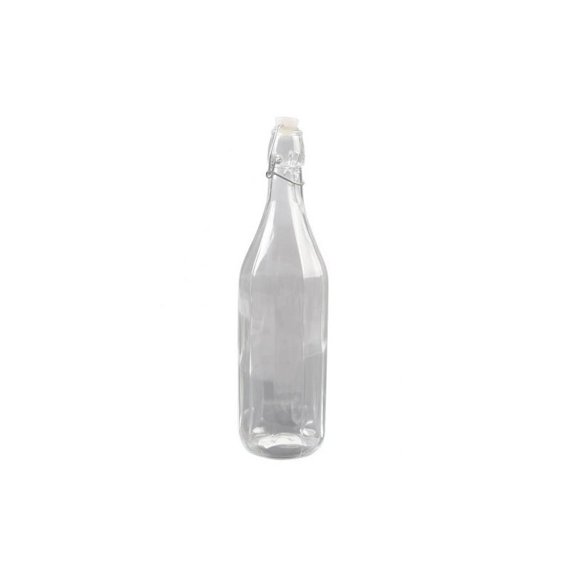 bouteille en verre 1000 ml food bazar. Black Bedroom Furniture Sets. Home Design Ideas