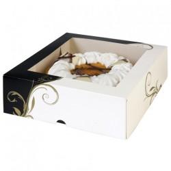 Boîte Pâtisserie avec fenêtre 32 cm (x50)