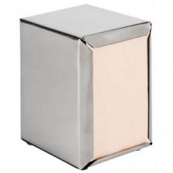 Distributeur serviettes Mini servis - Argenté
