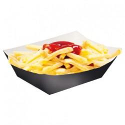 Barquette pour frites Noire (x1600)
