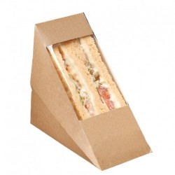 Boîte Club Sandwich Kraft (x500) - Taille : Simple
