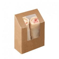 Boîte Wrap Kraft (x500)