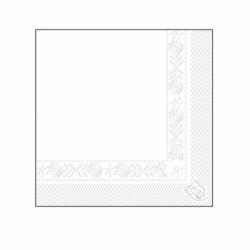 Serviettes Ecolabel Tissue 25x25 cm (x4800)