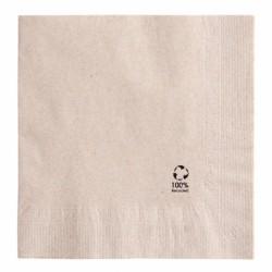 Serviettes 2 plis Feel Green (x2400) - Taille : 33 x 33 cm