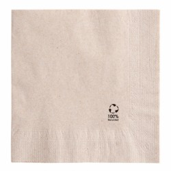 Serviettes 2 plis Feel Green (x1600) - Taille : 40 x 40 cm