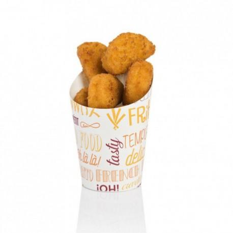 "Gobelets Frites ""Parole"" 270 ml (x2500)"