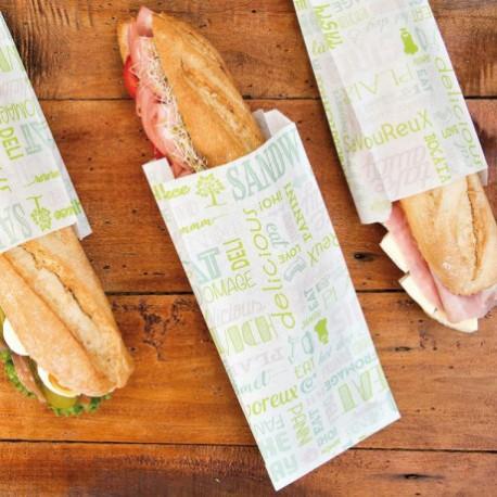 """Sachets sandwichs """"Parole"""" (x500)"""