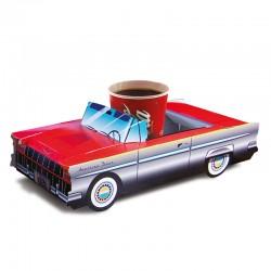 Boite menu enfant Cadillac Rouge