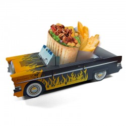 Boite menu enfant Cadillac Flamme