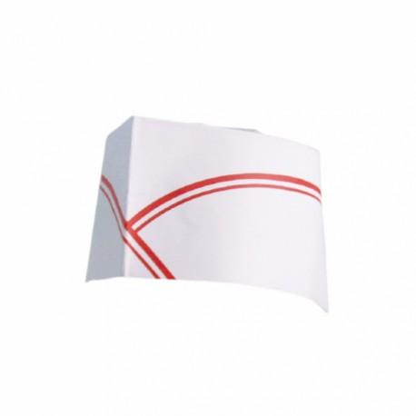 Toque Lignes (x100) - Taille : 28 cm