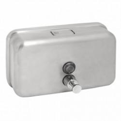 Distributeur de gel pour mains en inox horizontal