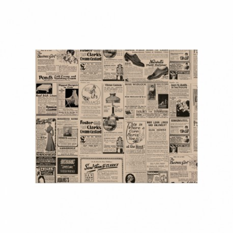 Papier ingraiss. Times 28x34 cm