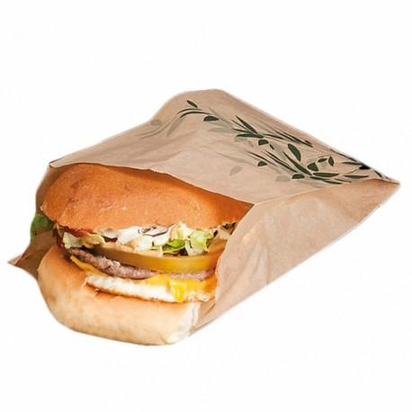 sachet burger feel green