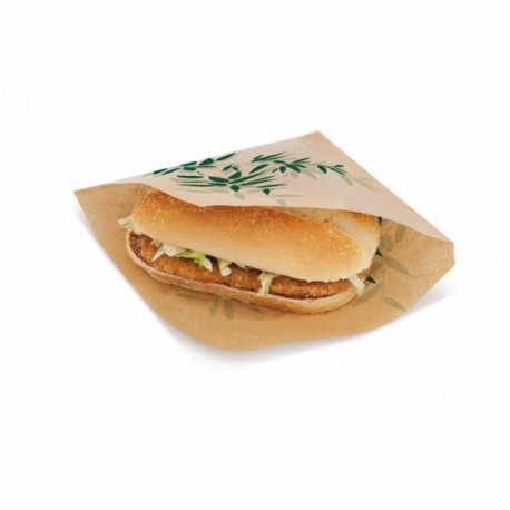 Sachet ouvert Burger Feel Green (x500)