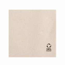 Serviettes Double point Feel Green (x3000) - Taille : 25 x 25 cm