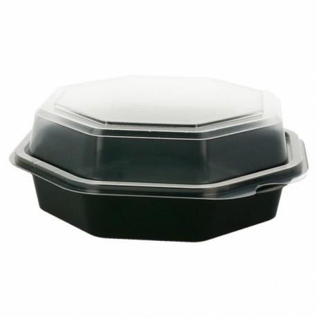 Boîte à salade plastique (x300) - Taille : 680 ml