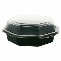Boîte à salade plastique (x190) - Taille : 1 064 ml