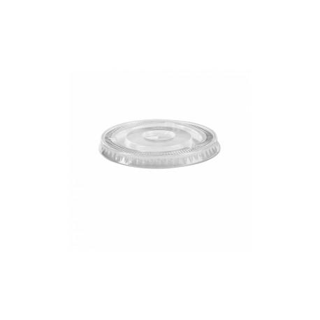 Couvercle bas pour pot en plastique pour glaces (x1000)