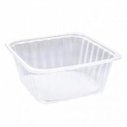 Boîte carré plastique opaque (x200) - Taille : 3 400 ml