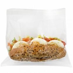Sachet avec fermeture auto-adhésive deli pack (x100) - Taille : 21 x 16 cm