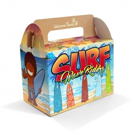 Boîte menu enfant - Modèle : Surf