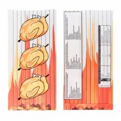 Sachet pour 1/2 poulet Cellulose (x500)