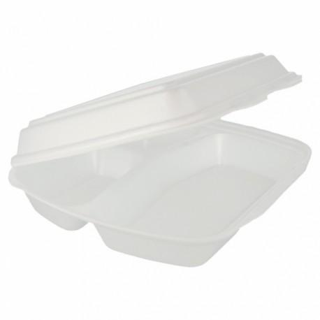 3 compartiments boite blanche