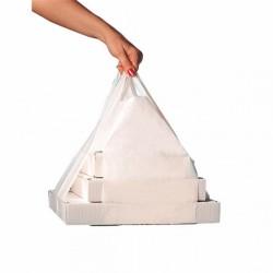 Sac à bretelles pour boîte pizza (x1000) - Taille : 50/26x60 cm