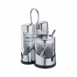 Set à condiments (x1) accessoire de service de table des hôtels, restaurants