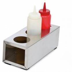 Porte 3 poires à sauces (x1) service de table pour les CHR